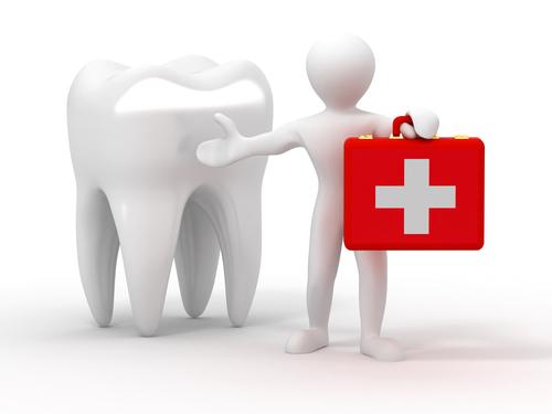 Markham Dentist - figure with medical suitcase