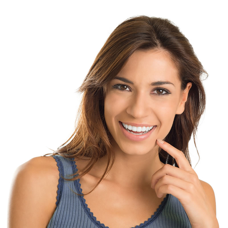 Smile Makeovers - woman smiling