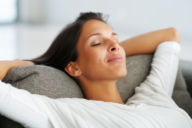 Markham Dentist - woman sleeping