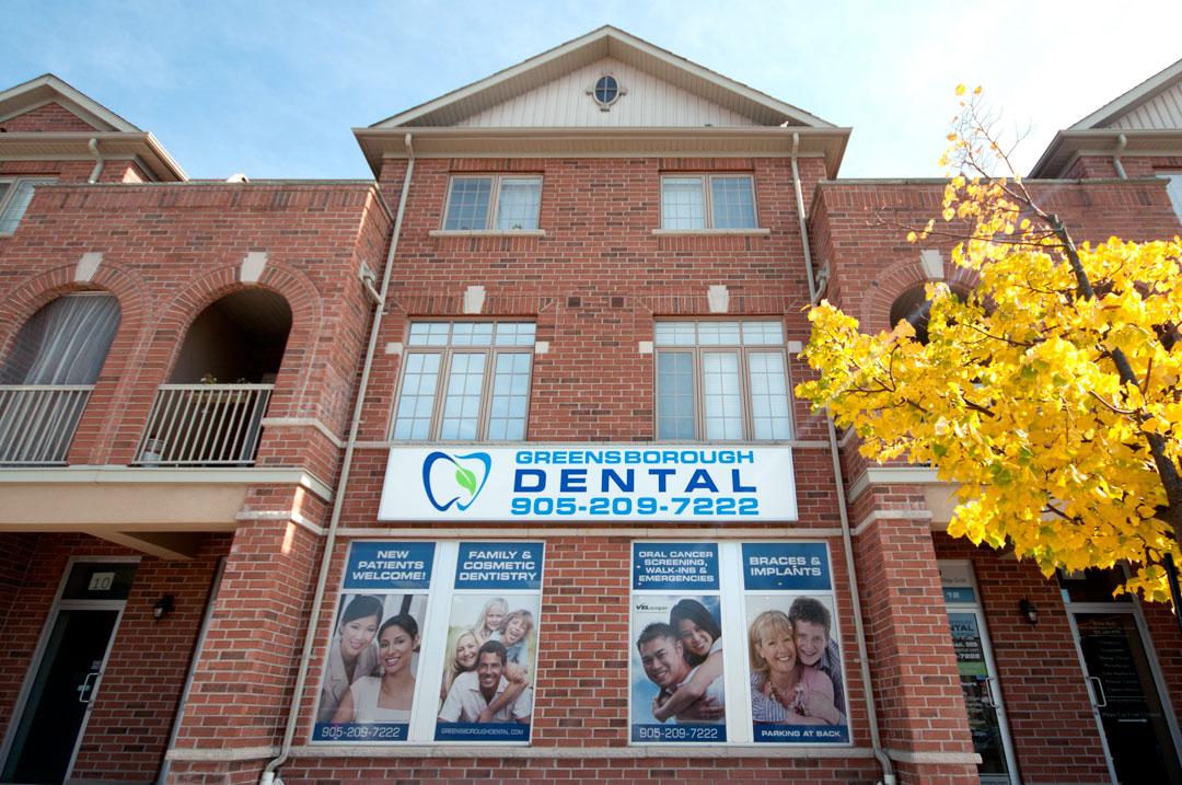 Greenborough Dental Office Markham